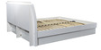 Aspen High Gloss with Hydraulic Storage King Bed by HomeTown
