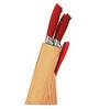Home Belle Designer Knife with Wooden Block - Set of 6