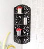 Fratellis Eclectic Wall Shelf in Black by Bohemiana