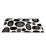 Homefurry Black & White Polyester 71 x 47 Inch Old Pond Area Rug