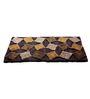 HomeFurry Multicolour Polyester 60 x 36 Inch Jingle Stones Area Rug