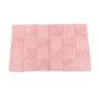 Homefurry Pinks Cotton 20 X 32 Inch Bath Mat
