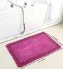Homefurry Purple Furry Style 20 X 32 Inch Cotton Door Mat