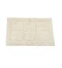 Homefurry Whites Cotton 20 X 32 Inch Bath Mat