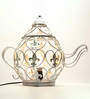 Homesake Silver Iron Kettle Table Lamp