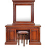 Morrison Red Cherry Dressing Table with Mirror and Stool by HomeTown