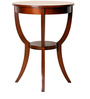 HomeTown Radial Solid Wood Side Table