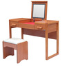 Horatio Dressing Table in Brown Colour by Lalco Interiors