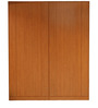Horatio Four Door Wardrobe in Brown Colour by Lalco Interiors