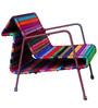 Horse Chair in Purple Shade by Sahil Sarthak Designs