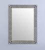Hosley Black & White Resin & MDF Decorative Zebra Wall Mirror