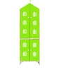House Kids Medium-Size Wardrobe in Green Colour by KuriousKid