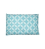 House This Blue & White Cotton 18 X 27 Pillow Cover 1 Pc