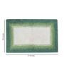 House This Green Cotton Bath Rug