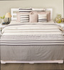 House This Grey 100% Cotton Duvet Cover