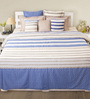 House This Navy 100% Cotton Bed sheet