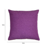 House This Purple Cotton 16 x 16 Inch Cushion Cover