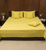 House This Yellow 100% Cotton Bed Cover