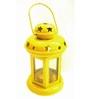 House2home Yellow Iron Lantern - Set Of 2