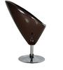 Hydraulic Bar Chair in Brown Colour by Penache