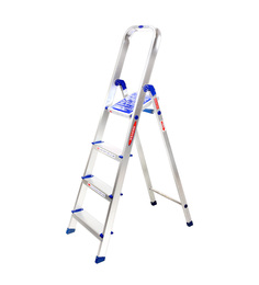 Idenver Sleek Aluminium 3 Step 4.7 FT Super Strong Platform Ladder