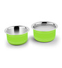Ideale Green Stainless Steel Induction Friendly 2-piece Cookware Set