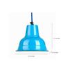 Ikkadukka Blue Iron The Juno Light Pendant