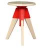Iku Bar Stool ( Set of 2 ) in Red Colour by Mintwud