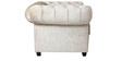 Imperial Sofa Set (2+1+1) Seater in Velvet Beige Color by ARRA
