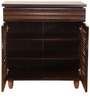 Imperia Shoe Rack in Wenge Finish by HomeTown