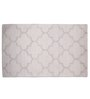 Imperial Knots Grey Wool 96 x 60 Inch High Low Hand Tufted Are Rug
