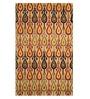 Imperial Knots Multicolour Handmade Ikat Carpet