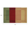 Imperial Knots Multicolour Wool 72 x 48 Inch Stripes Handwoven Dhurrie
