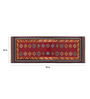 Imperial Knots Multicolour Wool 96 x 60 Inch Turkish Dhurrie