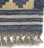 Imperial Knots Vintage Kilim Grey & Maroon Wool Area Rug