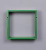 Importwala Green Cube MDF Wall Shelves - Set of 3