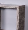 Importwala Grey MDF Slate Wall Shelf - Set of 3