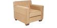 Indus Sofa Set 3+2+1 in Honey Brown Color by Arra