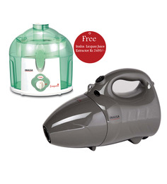 Inalsa Duo Clean Vacuum Cleaner with Inalsa Licquas Juice Extractor Free worth Rs 2495/-