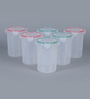 Incrizma Hi Lock Round Container - 1200 Ml - Set Of 6