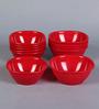 Incrizma Red Melamine Bowl - Set Of 12
