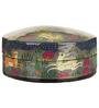 Indeasia Srijan Handpainted Kashmiri Art Round Shaped Coaster with Box - Set of 6