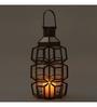 Indecrafts Transparent Iron Grid Festive Lantern