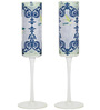 India Circus Flight of Birds 150 ML Champagne Glasses - Set of 2