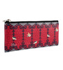 India Circus Flight of Birds Faux Leather Small Utility Pouch