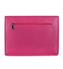 India Circus Funky Plume Faux Leather Multicolour Document Holder