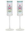 India Circus Garden of Eva 150 ML Champagne Glasses - Set of 2