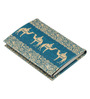 India Circus Sandy Illusions Faux Leather Card Holder