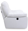 Indulge Leather Electric One Seater Sofa Recliner in White Colour by HomeTown
