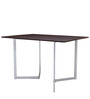 Inka Convertible Console cum Dining Table in Brown Colour by Gravity